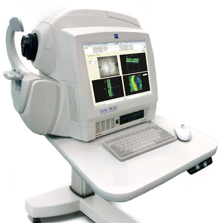 oct machine for eye